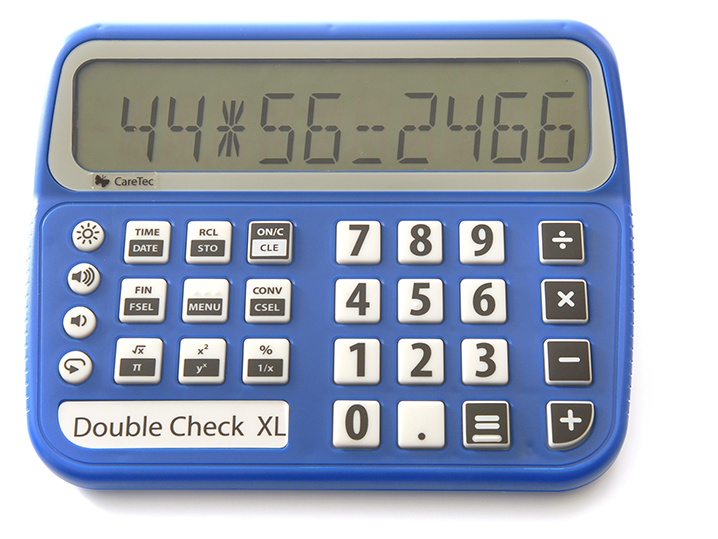 Double Check XL Talking Calculator
