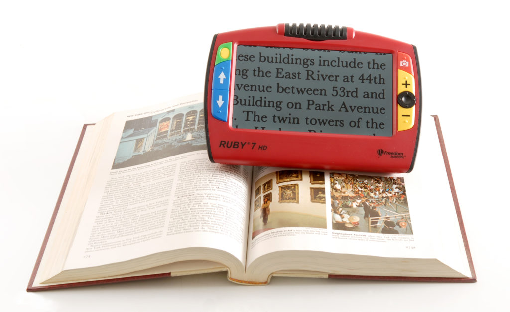 RUBY 7 HD - Portable Electronic Magnifier