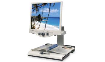 "Merlin 2 19"" LCD Desktop Magnifier - Sensory Solutions"