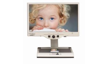 """Merlin 22""""HD LCD Desktop Magnifier - Sensory Solutions"""