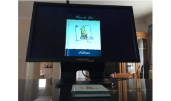 """Acrobat HD LCD 22"""" Electronic Magnifier with trolley case for sale"""