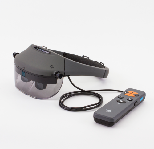 Acesight side view with remote