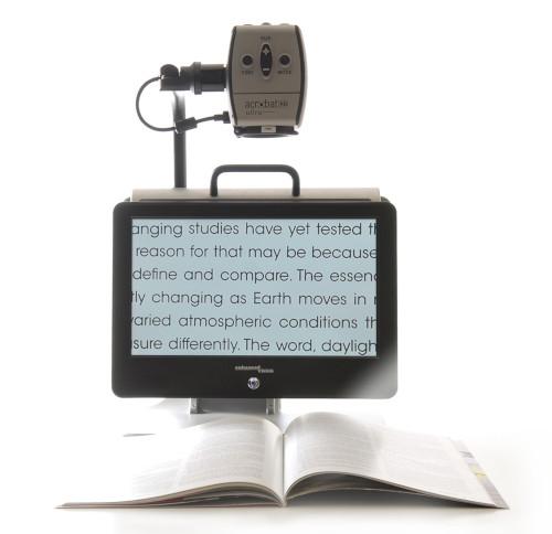 Acrobat HD mini ultra with book open