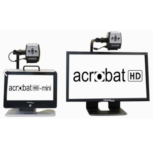 Acrobat HD ultra and Acrobat HD mini next to each other