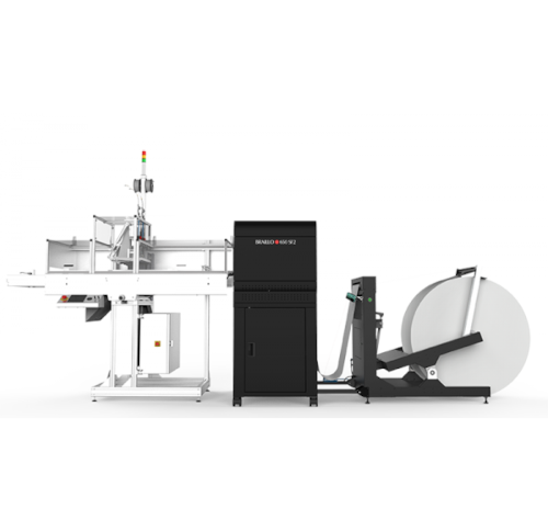 Braillo 650 SF2 with paper roller