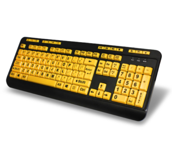 EasyTouch 132 Large-print Keyboard