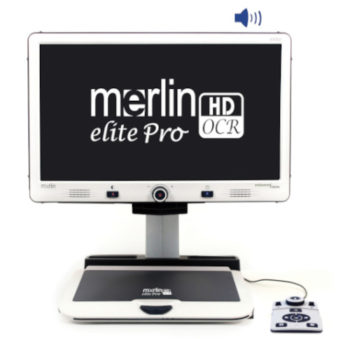 Merlin elite Pro HD/OCR Full View