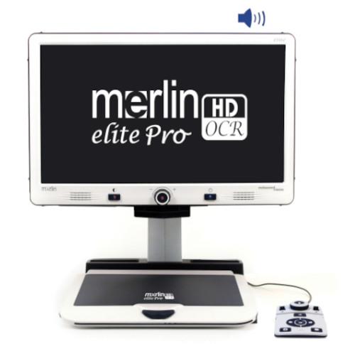 Merlin elite Pro HD/OCR Full View