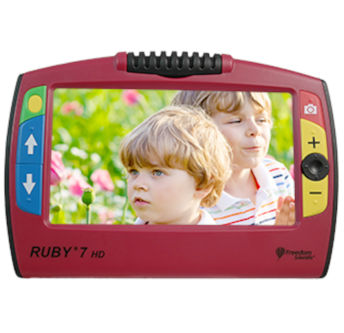 Ruby 7 HD front view